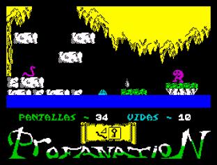 Abu Simbel Profanation ZX Spectrum 44