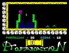 Abu Simbel Profanation ZX Spectrum 48