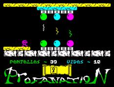 Abu Simbel Profanation ZX Spectrum 49