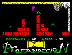 Abu Simbel Profanation ZX Spectrum 50