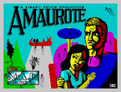 Amaurote ZX Spectrum 01