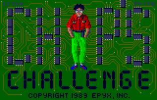 Chip's Challenge Atari Lynx 001