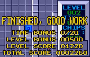 Chip's Challenge Atari Lynx 009