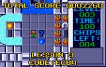 Chip's Challenge Atari Lynx 013