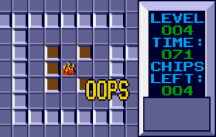 Chip's Challenge Atari Lynx 020