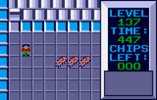Chip's Challenge Atari Lynx 097
