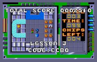 Chip's Challenge Atari ST 12