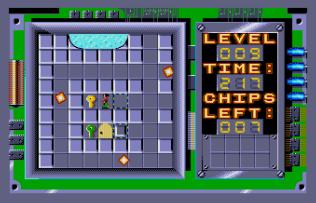 Chip's Challenge Atari ST 55