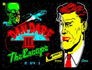 Dan Dare 3 - The Escape ZX Spectrum 01