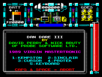 Dan Dare 3 - The Escape ZX Spectrum 03