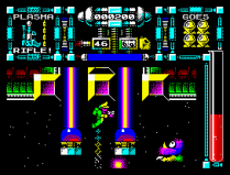 Dan Dare 3 - The Escape ZX Spectrum 06
