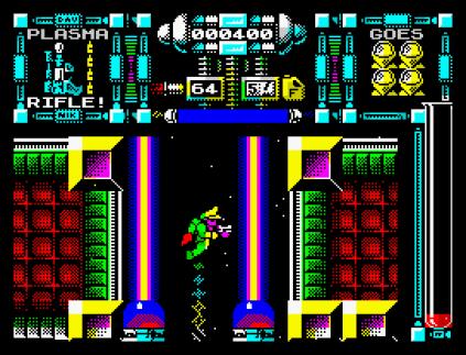 Dan Dare 3 - The Escape ZX Spectrum 09