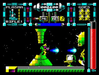Dan Dare 3 - The Escape ZX Spectrum 10