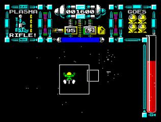 Dan Dare 3 - The Escape ZX Spectrum 11