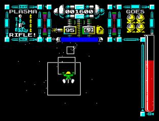Dan Dare 3 - The Escape ZX Spectrum 12