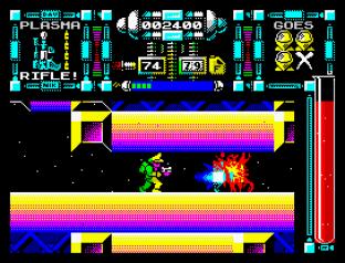 Dan Dare 3 - The Escape ZX Spectrum 20