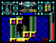 Dan Dare 3 - The Escape ZX Spectrum 22