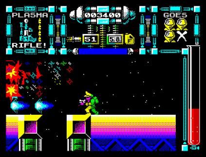 Dan Dare 3 - The Escape ZX Spectrum 23
