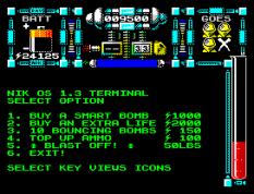 Dan Dare 3 - The Escape ZX Spectrum 32
