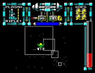 Dan Dare 3 - The Escape ZX Spectrum 34