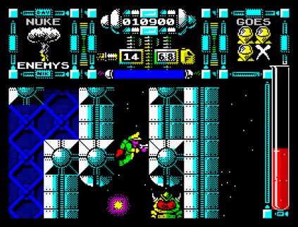 Dan Dare 3 - The Escape ZX Spectrum 42