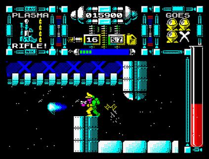 Dan Dare 3 - The Escape ZX Spectrum 45
