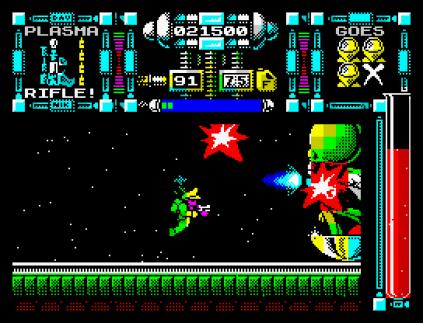 Dan Dare 3 - The Escape ZX Spectrum 53
