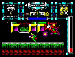 Dan Dare 3 - The Escape ZX Spectrum 54
