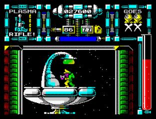 Dan Dare 3 - The Escape ZX Spectrum 56