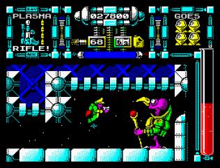 Dan Dare 3 - The Escape ZX Spectrum 60