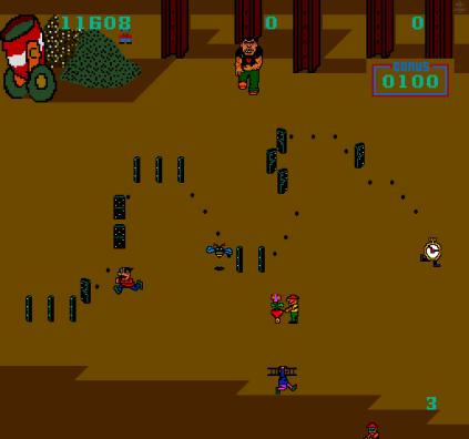 Domino Man Arcade 12