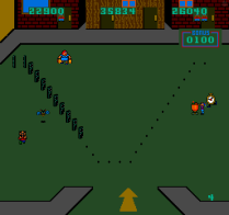 Domino Man Arcade 26