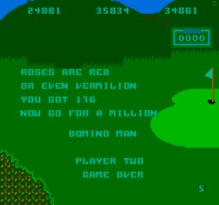 Domino Man Arcade 32