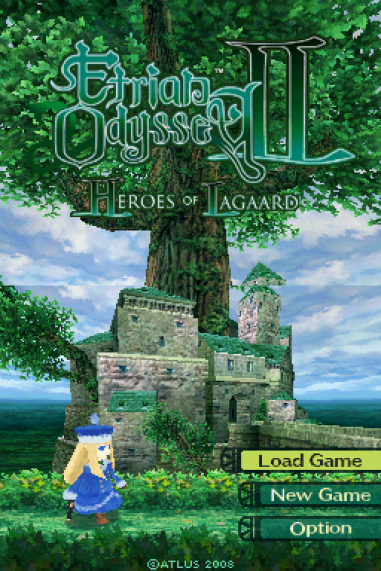 Etrian Odyssey 2 - Heroes of Lagaard Nintendo DS 001