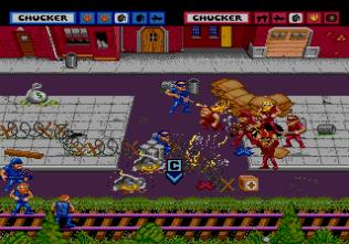 General Chaos Megadrive 66