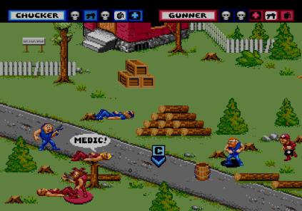 General Chaos Megadrive 86