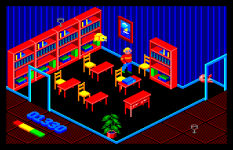 Inside Outing Amstrad CPC 11
