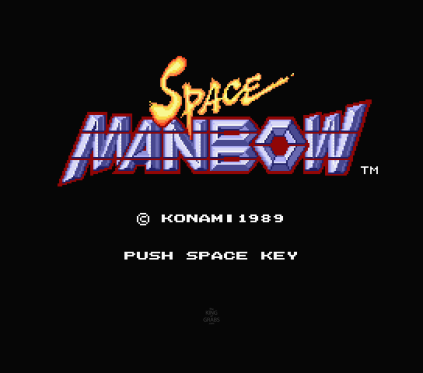 Space Manbow MSX 001