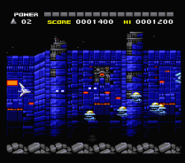Space Manbow MSX 002