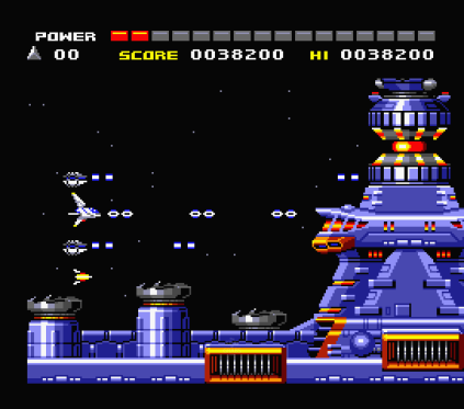 Space Manbow MSX 009