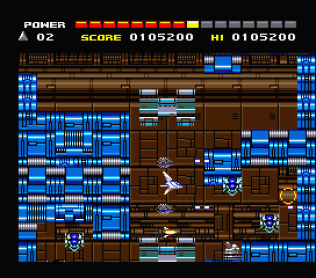 Space Manbow MSX 022