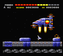 Space Manbow MSX 102