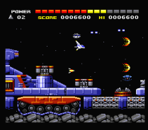 Space Manbow MSX 104