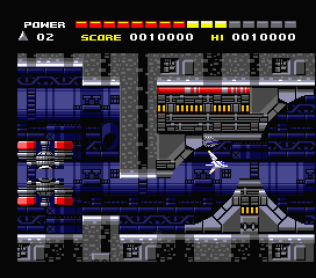 Space Manbow MSX 114