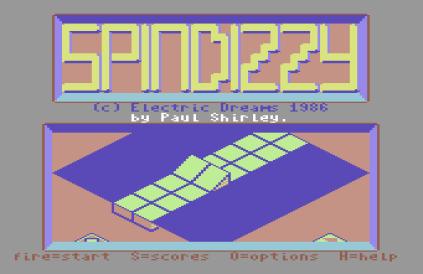 Spindizzy C64 064