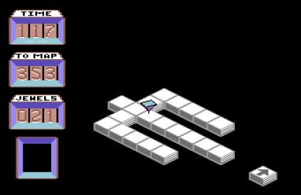 Spindizzy C64 078