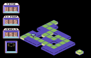 Spindizzy C64 120