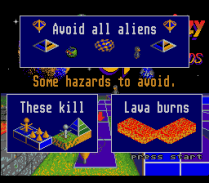 Spindizzy Worlds SNES 92