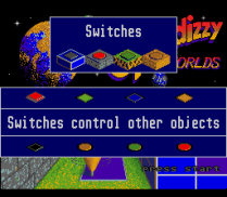 Spindizzy Worlds SNES 93