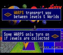 Spindizzy Worlds SNES 94